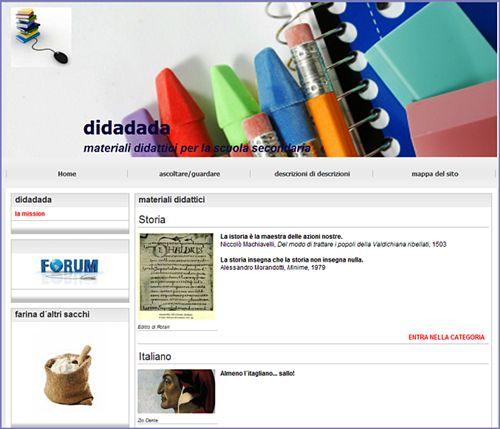 Blog didattico Diadada