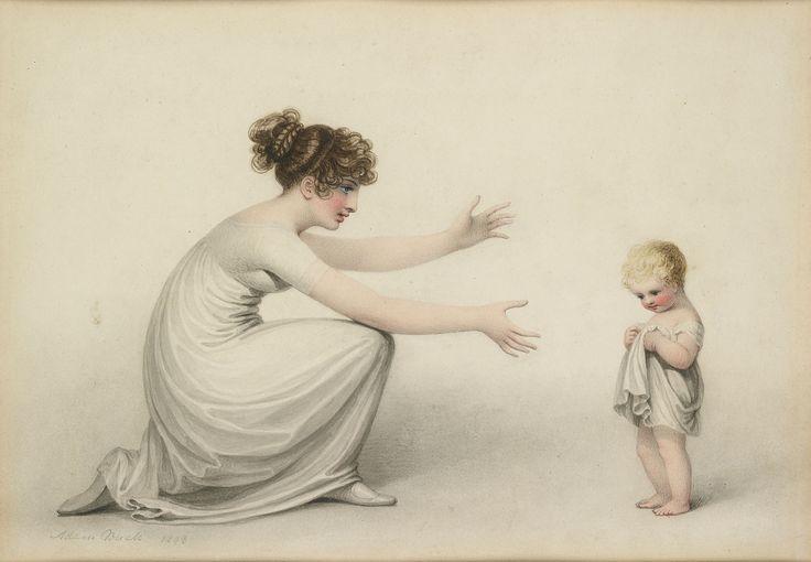 Adam Buck, First Steps, 1808