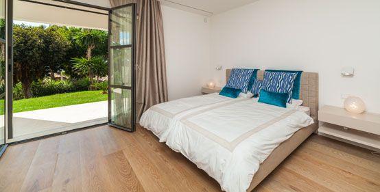 vivienda, dormitorio, decoración, paisajismo, diseño, vivienda lujo
