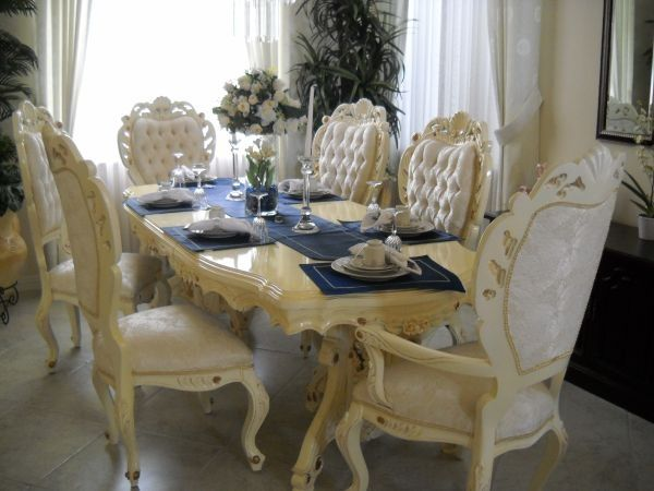 Victorian Style Dining Sets   Beautiful Victorian Style Dining Set