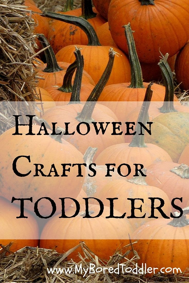 halloween crafts for toddlers - Toddler Halloween Craft Ideas
