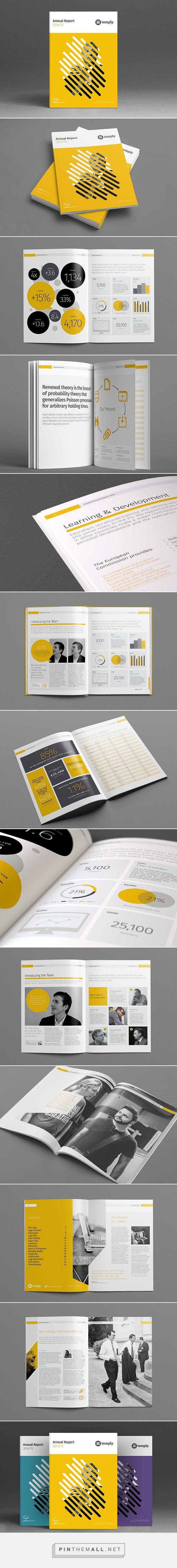 Annual Report Template by Temp ly