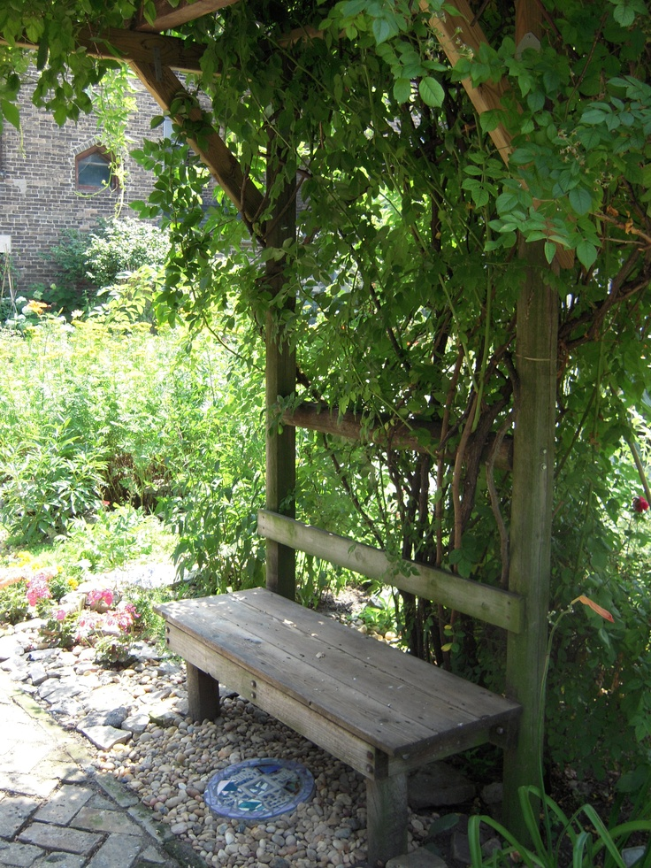 17 Best Images About Flower Gardens With Benches On 400 x 300