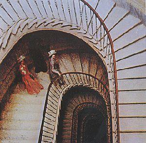 Giacomo Balla « L'escalier des au revoir », 1908,
