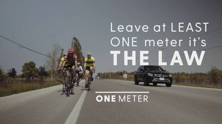 Sharing the Road Safely with Cyclists - One Metre Rule