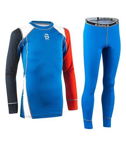 #Björn Daehlie Jungen Skiunterwäsche Set Dry Baselayer Junior, Farbe:Blau;Größe:152;Artikel:-24600 electric blue lemonade, 04251167980001