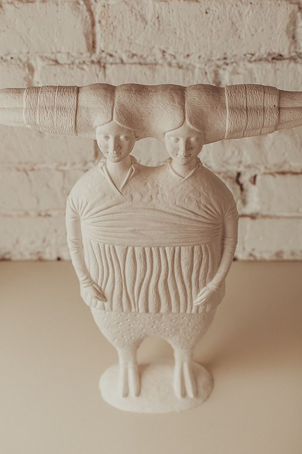 "Sculpture catalogue ""Siberian"" by SIBERIAN art studio, via Behance"