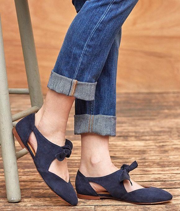 Dark Blue Hotter Donna Shoe