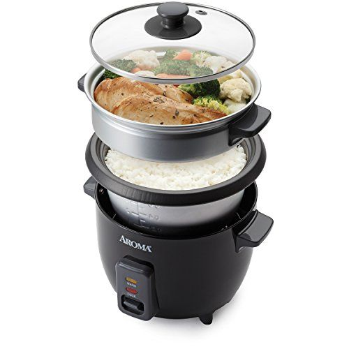 Aroma Housewares ARC-363-1NGB 3 Cups Uncooked/6 Cups Cooked Rice Cooker, Steamer, Silver // http://cookersreview.us/product/aroma-housewares-arc-363-1ngb-3-cups-uncooked6-cups-cooked-rice-cooker-steamer-silver/  #cooker #pressure #electric