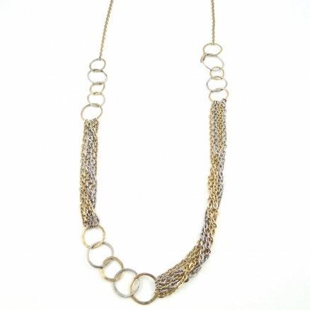 Long ring necklace  by Beryl Dingemans