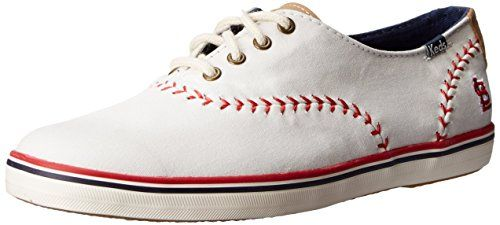 Keds Women's Pennant Fashion Sneaker, Saint Louis Cardinals, 8 M US