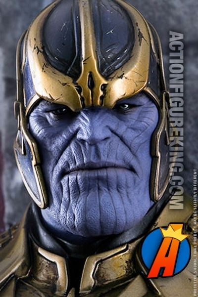 Guardians of the Galaxy 1/6th (12-inch) Scale Thanos movie action figure from Hot Toys and Sideshow Collectibles. Visit ActionFigureKing.com for pricing and availability. #thanos #hottoys #sideshowcollectibles #actionfigures #guardiansofthegalaxy