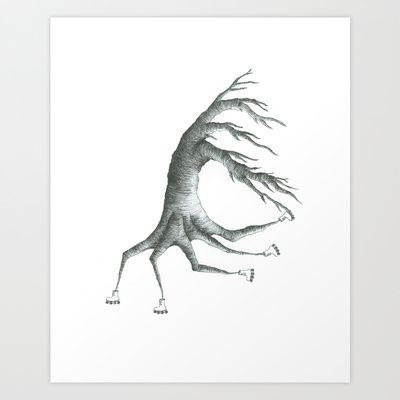 how+peculiar+Art+Print+by+Daggy+Jess+-+$15.00