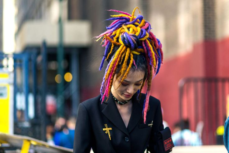 Street style SS2017 dreadlocks