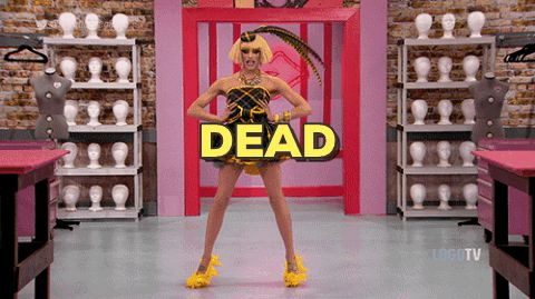 New party member! Tags: rupauls drag race dead
