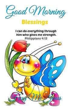 Good Morning Blessings..