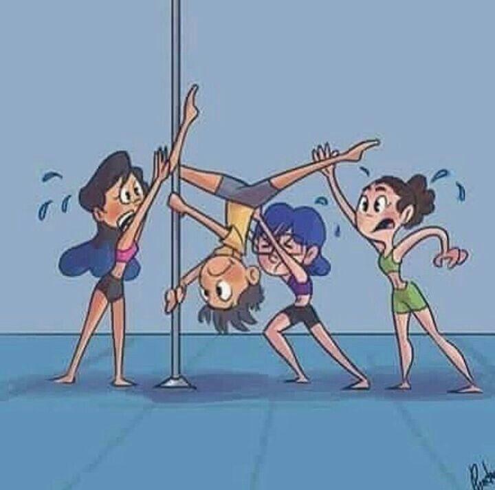 Смешные картинки про тренера по танцам