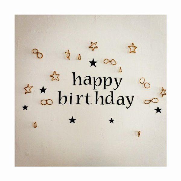 ハッピーバースデー♡おしゃれすぎる!子供の誕生日の壁飾り付けアルバム集の画像 | ギャザリー