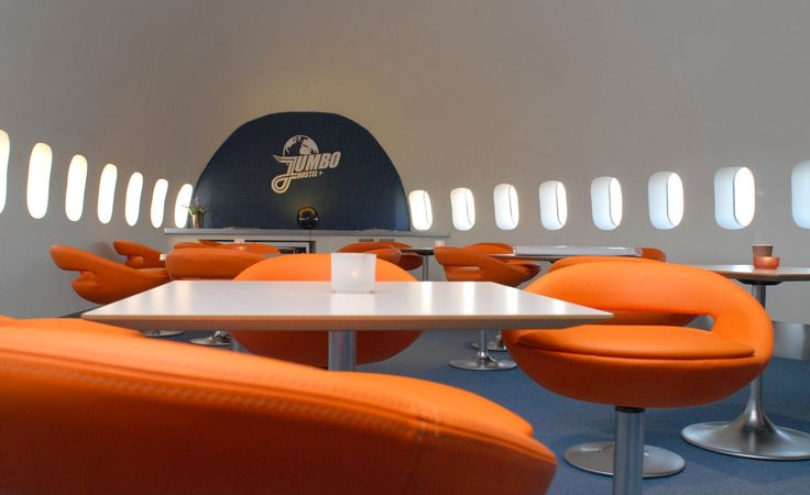 Can't get enough of trying to sleep on planes? Well check in to Jumbo Stay in Sweden.
