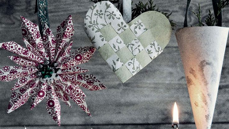 Julepynt - lav selv hjemmelavet julepynt