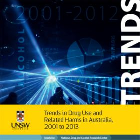 Trends in Drug Use and Related Harms in Australia, 2001 to 2013 | Resource | NDARC - National Drug and Alcohol Research Centre
