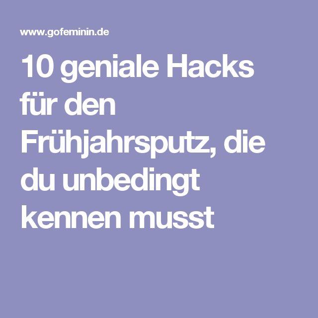 10 geniale Hacks für den Frühjahrsputz, die du unbedingt kennen musst