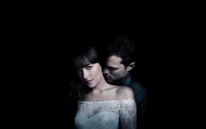 Descargar fondos de pantalla Cincuenta Sombras Liberadas, de drama, de 2018 de la película, Jamie Dornan, Dakota Johnson