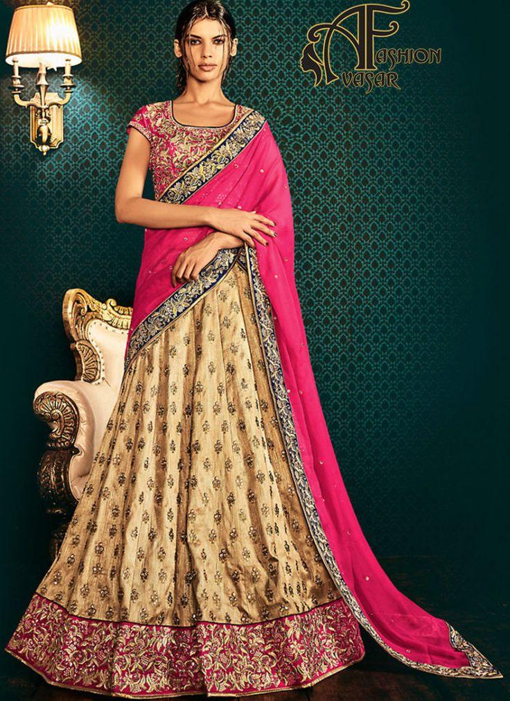 Party Wear Lehenga Saree Online Shopping