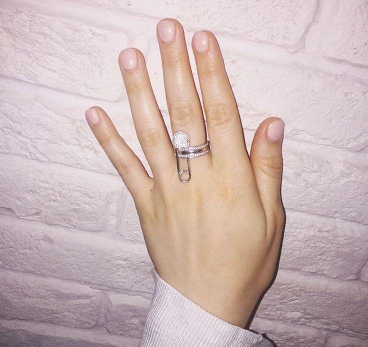 "Кольцо ""Булавка"" Цена: 3 600₽ #мастерскаяонлайн  #love #beautiful #instagram #style #like #beauty #repost #jewellery #laressart #art #moscow #russia  #серебро"