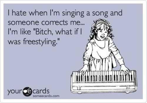 ahaha.: Opera Singers, I M Freestylin, Totally Lmao, Ahaha, My Husband, My Life, So True, So Funny, Totally Me