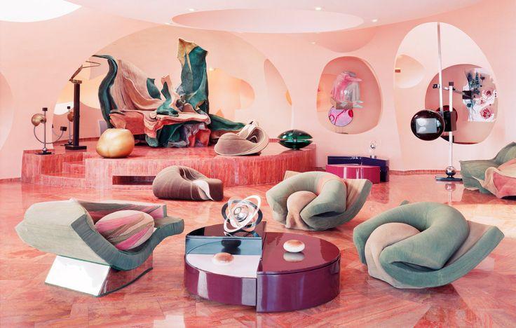 Interior Interior Futurista Design De Interiores Retro Ideias Para Interiores