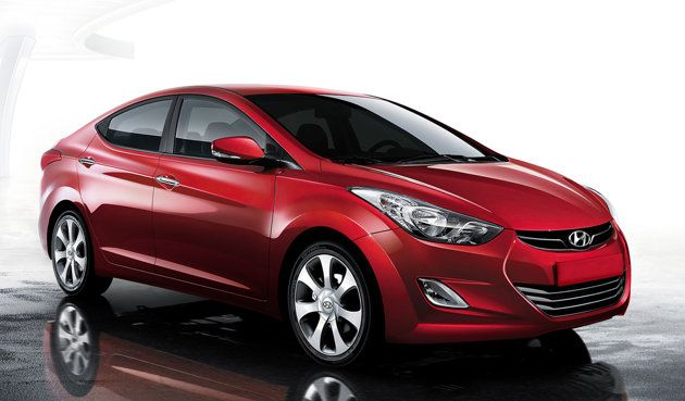 Hyundai Elantra - 2012 eight cheapest car to buy and own..and sexiest :)
