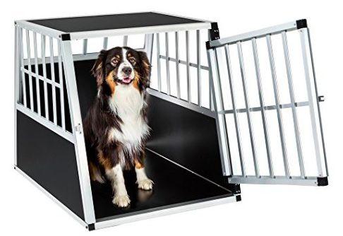 Single box per il cane , adatto per trasportare il cane con l'automobile ma anche come posto di cuccia e riposo mobile per il cane. Proteggi il tuo cane e gli altri occupanti dell'automobile.