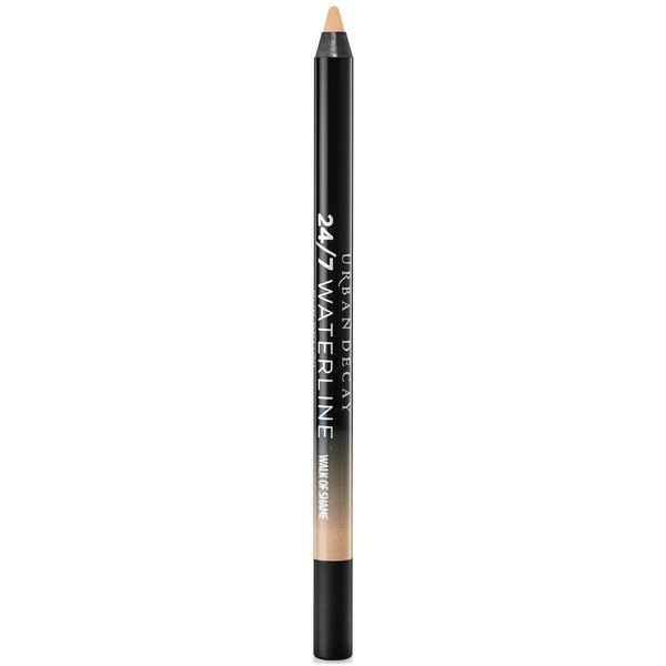 Urban Decay 24/7 Waterline Eye Pencil, Walk of Shame found on Polyvore