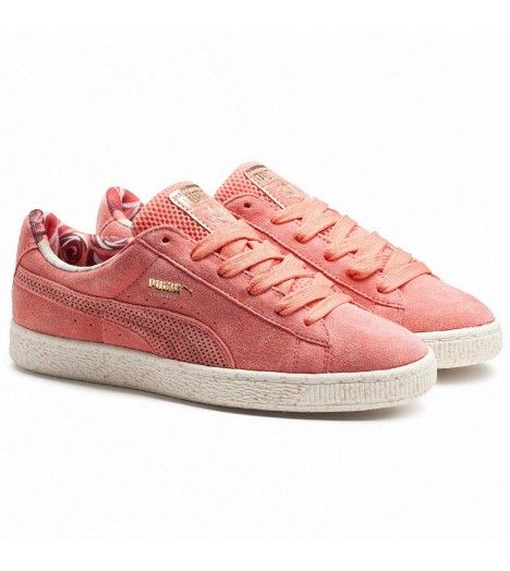 puma basket carreaux