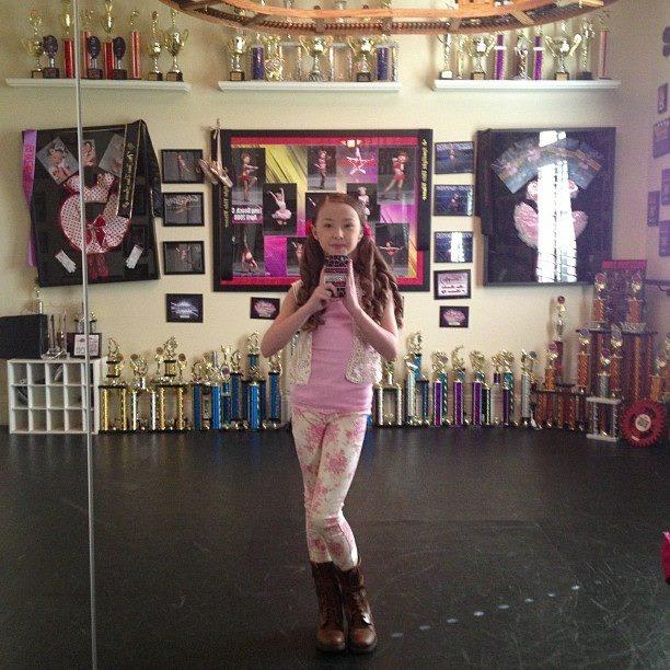 Sophia lucia in her dance room sophia lucia pinterest for Sophia house