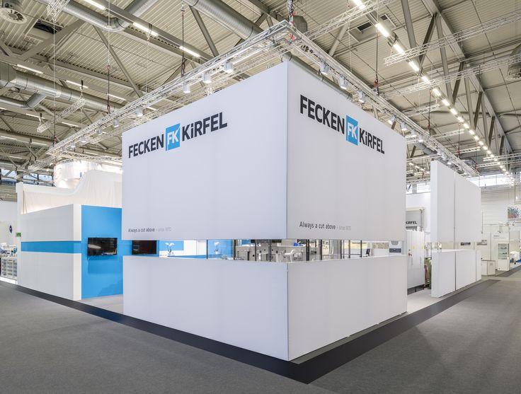 New Messestand Interzum lightwall system Fecken Kirfel