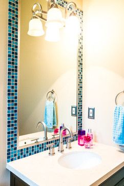 mosaic tile bathroom mirror 25 best ideas about tile mirror frames on 19665