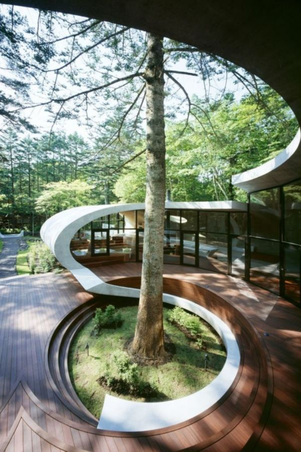 Organic Architecture 50 Inspirational Ideas In 2020 Organic Architecture Landscape Architecture Magazine Landscape Architecture