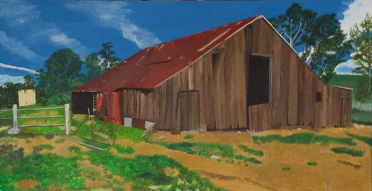 My Painting - Old Barn
