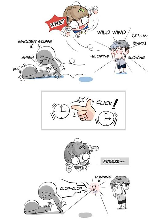 EXO Fanart Comic 8 Cr Owner