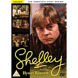 Shelley. Classic TV series starring the wonderful Hywel Bennett.