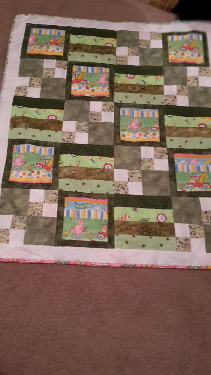 July 16 baby quilt