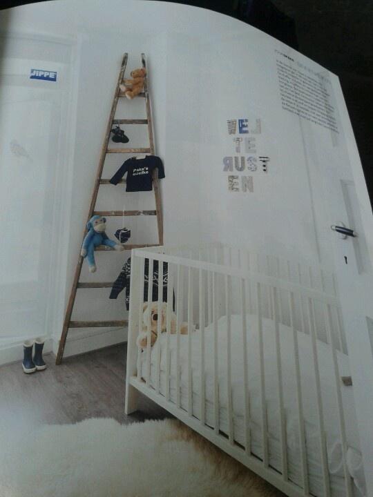 Decoratie ladder babykamer for - Babykamer decoratie ...