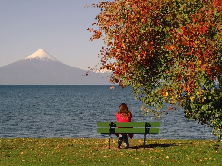 El Lago LLanquihue en Frutillar al Sur de Chile