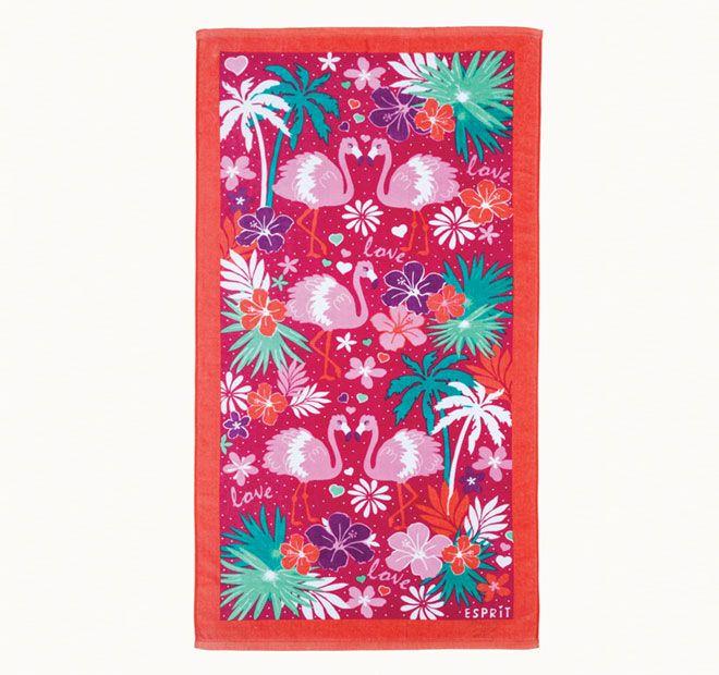 Esprit Flamingo 70x140cm Beach Towel Multi