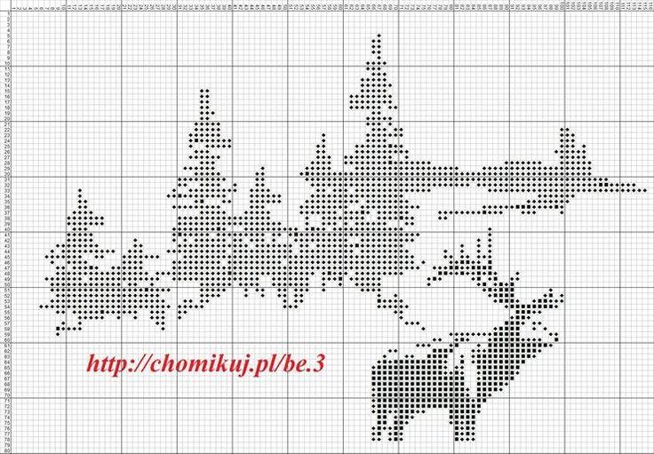 Gallery.ru / Фото #215 - Лесные животные (схемы) - Olgakam