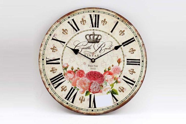 ceas perete vintage - Buscar con Google