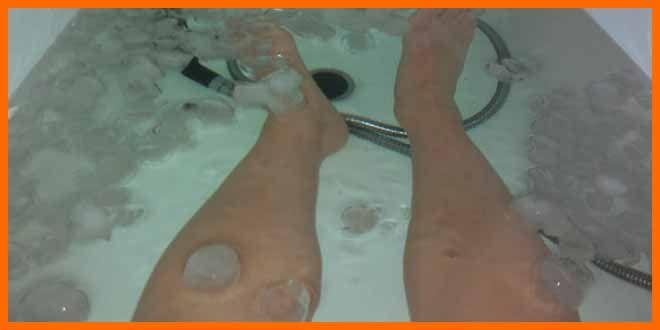 Crioterapia para corredores, baños de hielo para deportistas que quieren recuperar más rápido el desgaste muscular. Los beneficios de la crioterapia.  #crioterapia #crioterapiaparacorredores #crioterapiaparaciclistas #crioterapiaparadeportistas #bañosdehielo