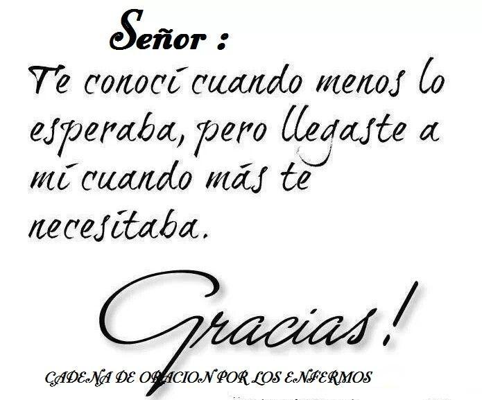 Gracias Mi Dios!!!